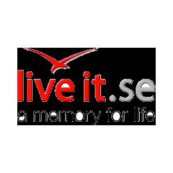 10 % rabatt på alla upplevelser - Live it