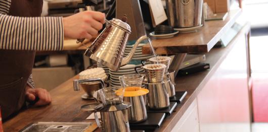 Studentrabatt på kaffe och fika