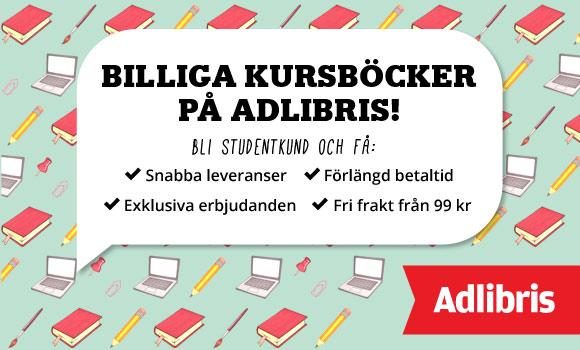 Studentrabatt Adlibris