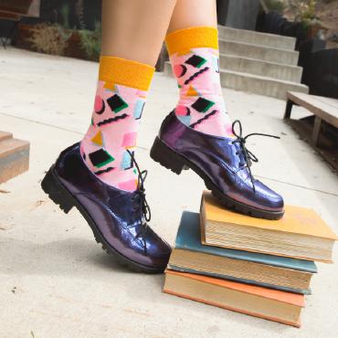 Studentrabatt på 15 % till alla med Studentkortet som handlar på happysocks.com. Hitta strumpor för alla tillfällen! Hämta rabatten!