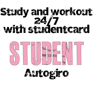 Studentrabatt på gymmedlemskap hos Everytime Fitness. Hämta rabatten!