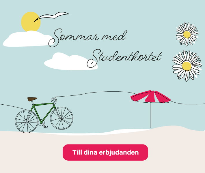 802cfdc8658 Studentrabatt och studenterbjudanden | Studentkortet.se